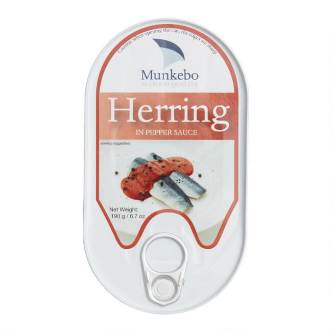 Munkebo Herring in Pepper Sauce Set of 2