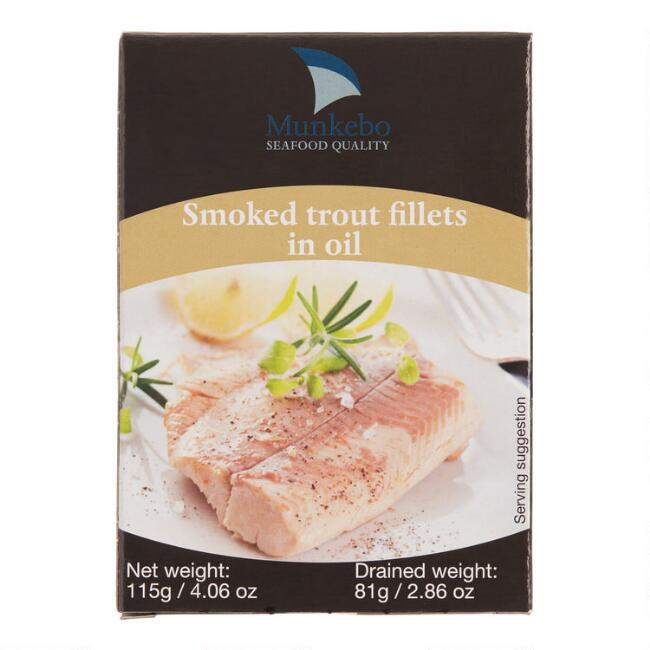 Munkebo Smoked Trout in Oil