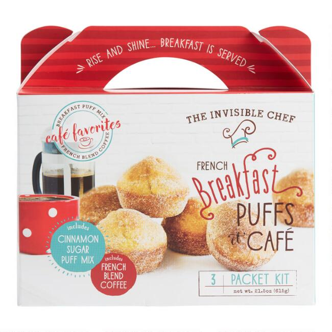 Invisible Chef French Breakfast Puffs Cafe Baking Kit
