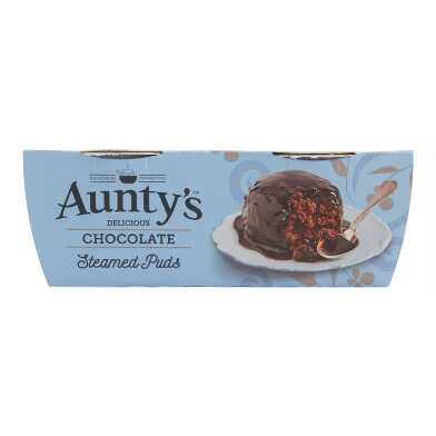 Aunty's Chocolate Steamed Puds Set of 2