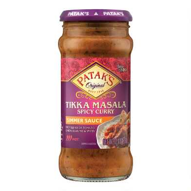 Patak's Spicy Tikka Masala Curry Simmer Sauce Set of 2