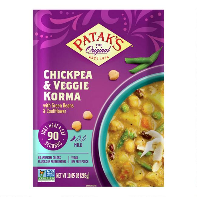 Patak's Chickpea & Veggie Korma Set of 2