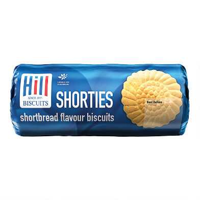 Hill Shorties Shortbread Flavored Biscuits