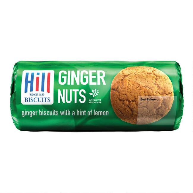 Hill Ginger Nuts Biscuits