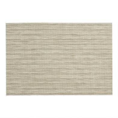 Natural Woven Vinyl Placemats Set of 2
