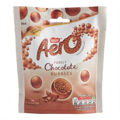 Nestle Aero Mini Milk Chocolate Bubbles Bag Set Of 4