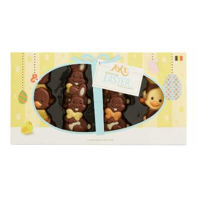 ICKX Chocolate Easter Bunnies And Chicks 8 Piece