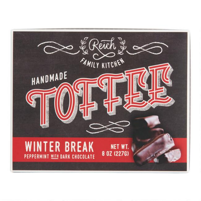 Reich Family Kitchen Winter Break Dark Chocolate Toffee