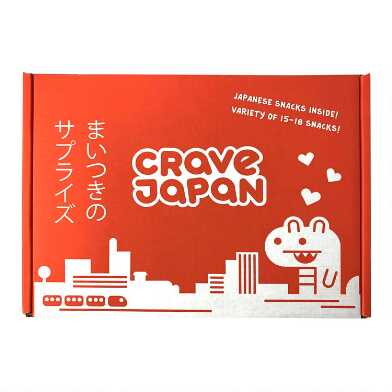Crave Japan Mystery Drinks And Snacks Crate