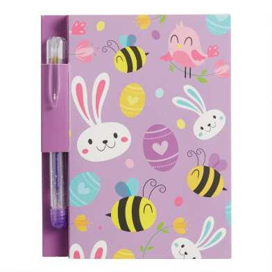 Bunny Notepads with Pens Set of 2