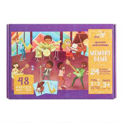 Little Likes Kids Musical Crossroad Memory Game