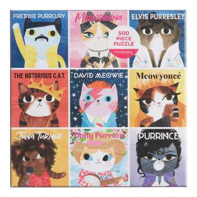 Mudpuppy Music Cats 500 Piece Puzzle