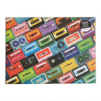 Mudpuppy Mix Tapes 1000 Piece Puzzle
