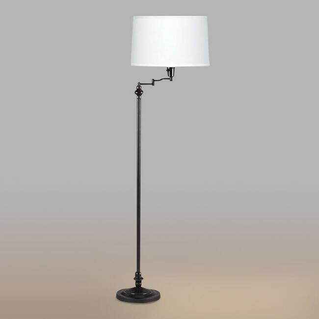 Floor lamps and tall task lamps world market aloadofball Image collections