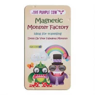 The Purple Cow Magnetic Monster Factory Travel Set