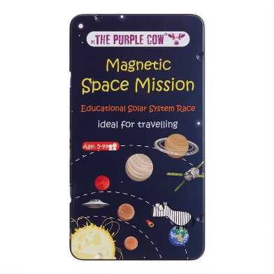The Purple Cow Magnetic Space Mission Travel Game