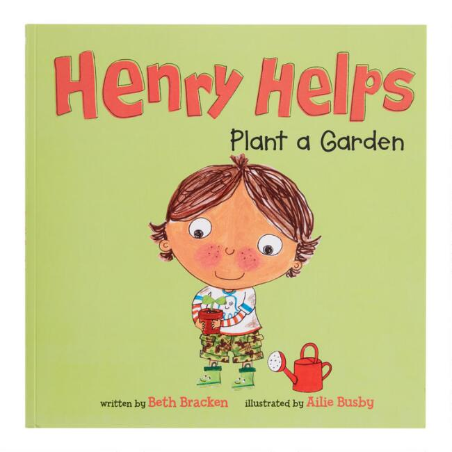 Henry Helps Plant a Garden Book