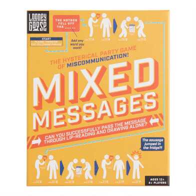 Professor Puzzle Mixed Messages Game