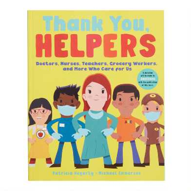 Thank You Helpers Book