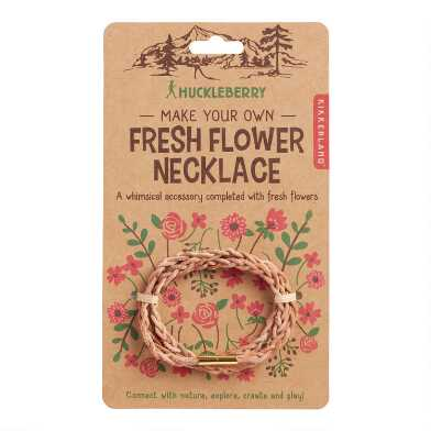 Kikkerland Huckleberry Make Your Own Flower Necklace Kit