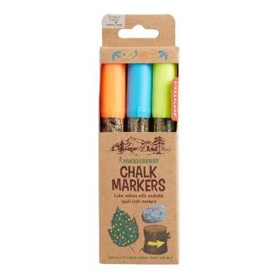 Huckleberry Chalk Markers 3 Pack