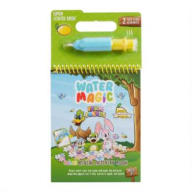 Water Magic Farm Friends Activity Book