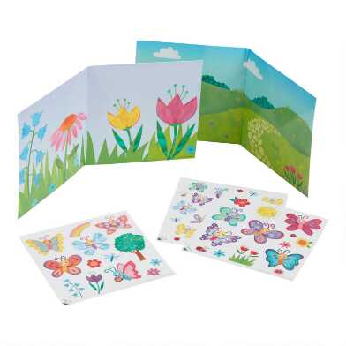 Peaceable Kingdom Butterfly Reusable Sticker Set