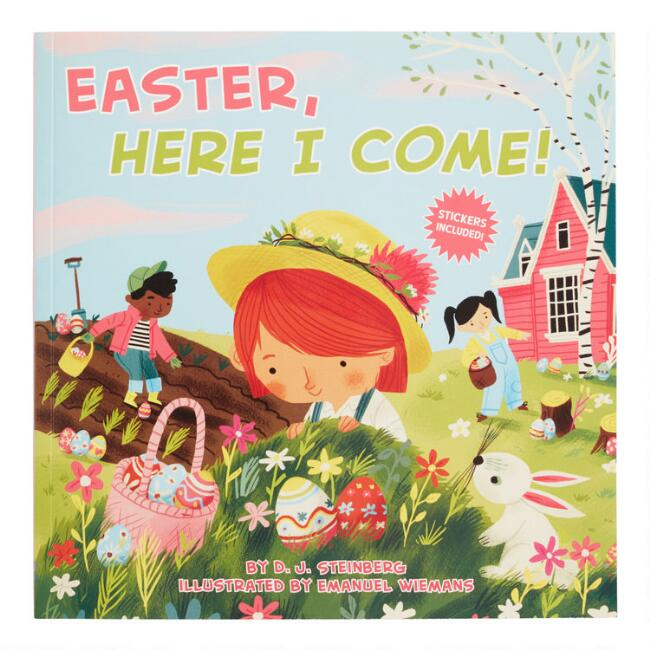 Easter Here I Come Book