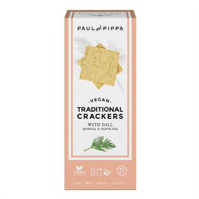 Paul and Pippa Traditional Dill Crackers