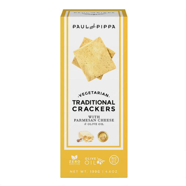 Paul and Pippa Traditional Parmesan Crackers