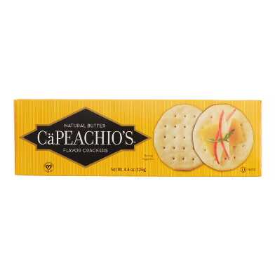 CaPeachio's Butter Crackers Set of 2