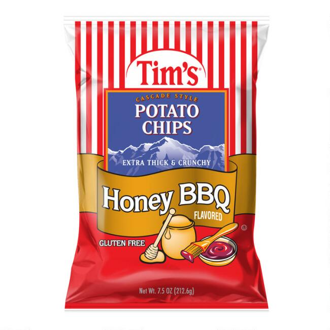 Tim's Honey BBQ Potato Chips Set of 2
