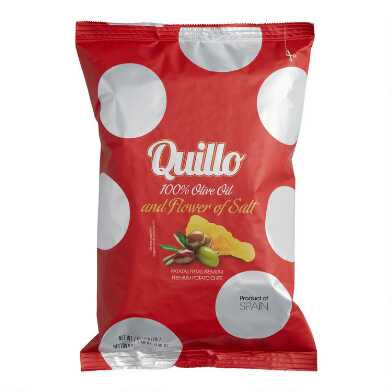 Quillo Olive Oil Potato Chips Set of 2