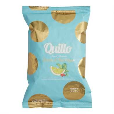Quillo Lemon and Pink Pepper Potato Chips Set of 2