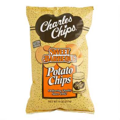 Charles Chips Barbeque Potato Chips