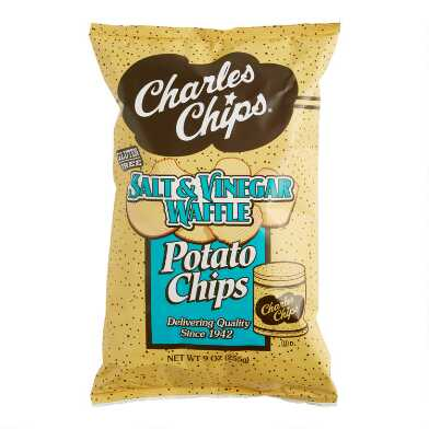 Charles Chips Salt and Vinegar Waffle Potato Chips