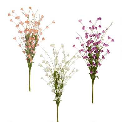 Faux Spring Blossom Bunches Set Of 3