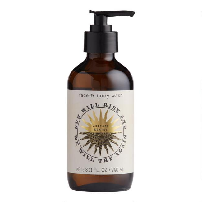 A&G Rising Sun Lychee and Amber Face & Body Wash