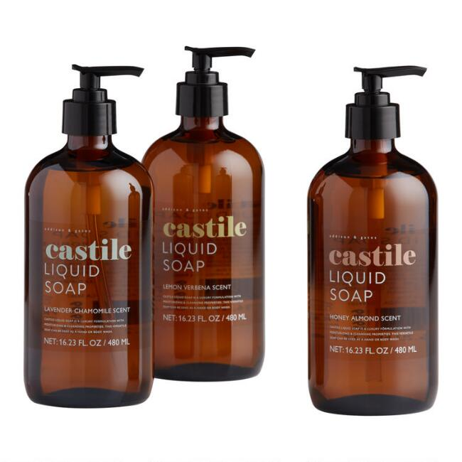 A&G Castile Liquid Soap