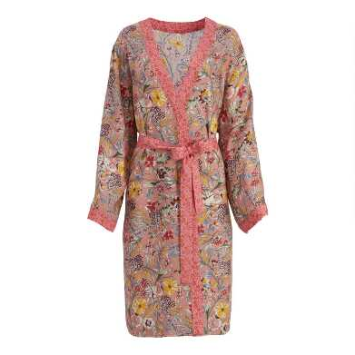 Dusty Pink Floral Lolita Robe