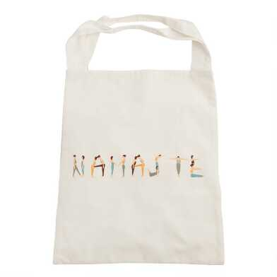 Namaste Canvas Tote Bag
