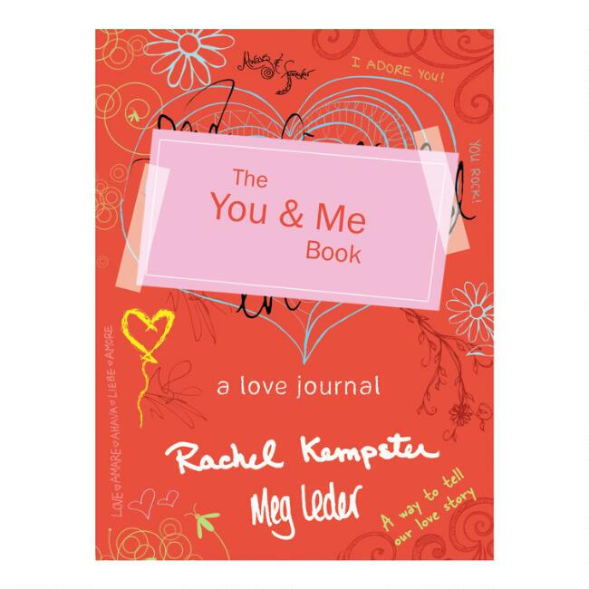 The You and Me Love Journal Book