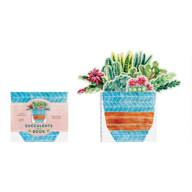 Succulents Pop Up Gift Book