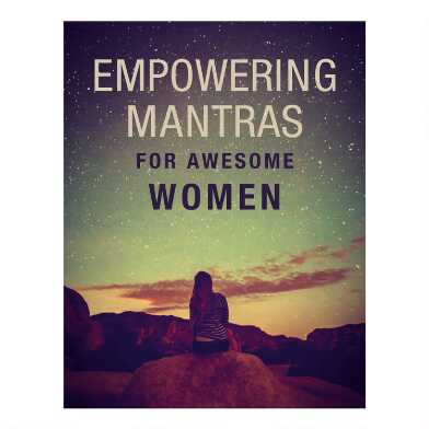 Empowering Mantras for Awesome Women Book