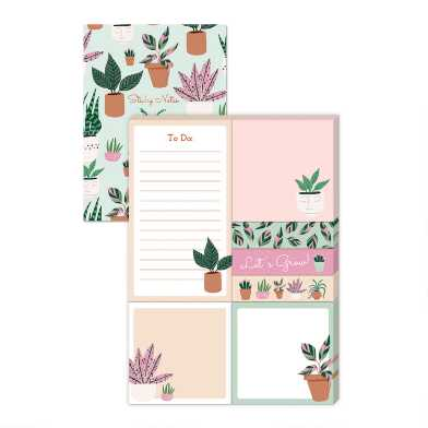 Houseplants Sticky Notes