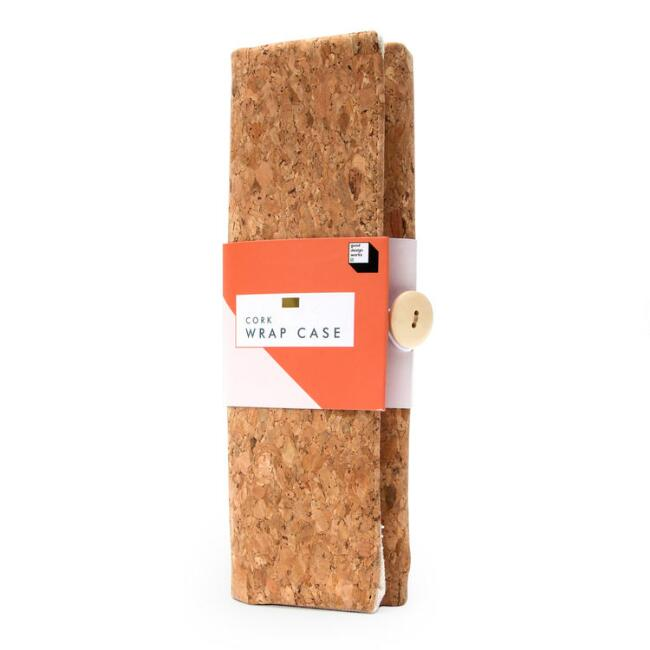 Cork Wrap Pencil Case