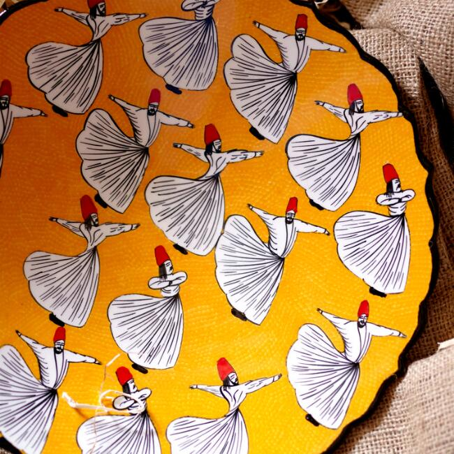 Sufi Decorative Platter