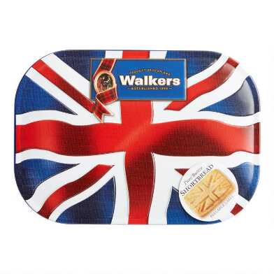 Walkers Shortbread Union Jack Tin