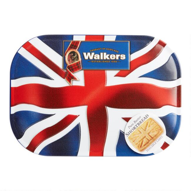 Walkers Shortbread Union Jack Cookie Tin