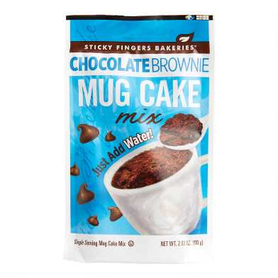 Sticky Fingers Chocolate Brownie Mug Cake Mix Set Of 4